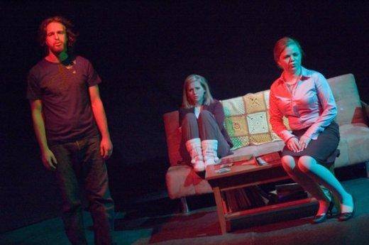 Carter Waite, Andi Porter and Courtney Schweitzer